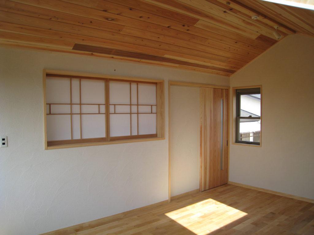 I山荘新築工事