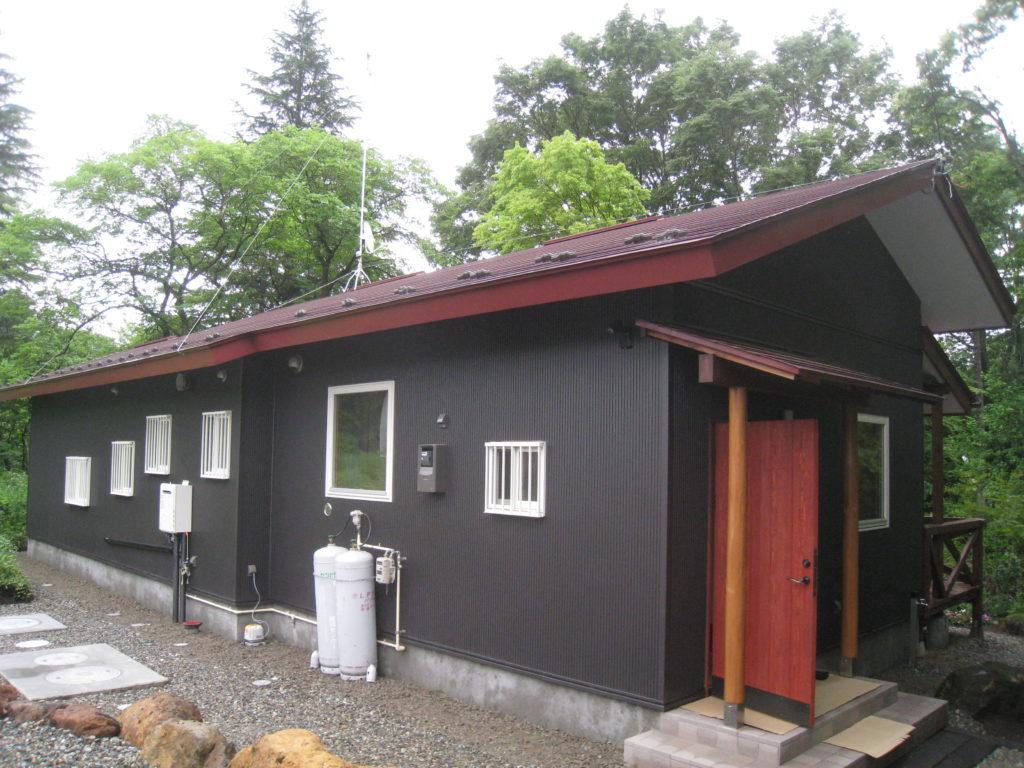 O山荘新築工事