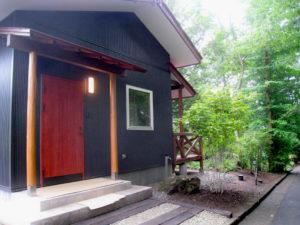 茶室のある山荘