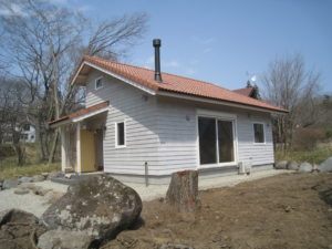 H邸別荘新築工事