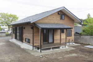 広い土間のある家